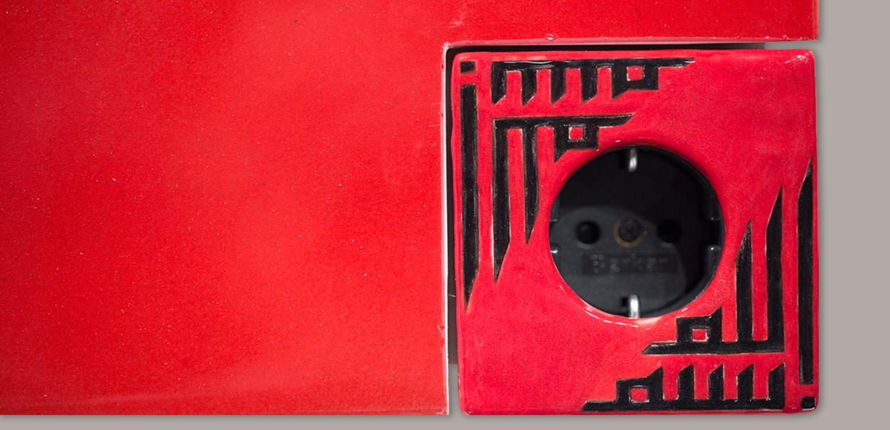 Cover Model single ceramics, made by Iznik Turkey
